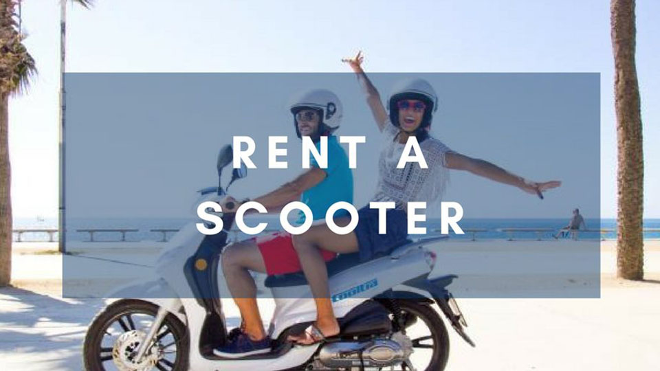 Renting a scooter in Vietnam