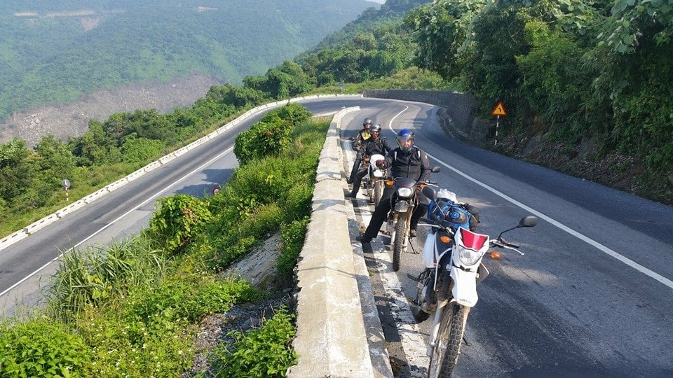journey from Hue to Hoi An by motorbike