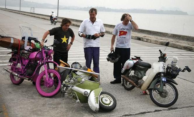 Top Gear's journey in Vietnam