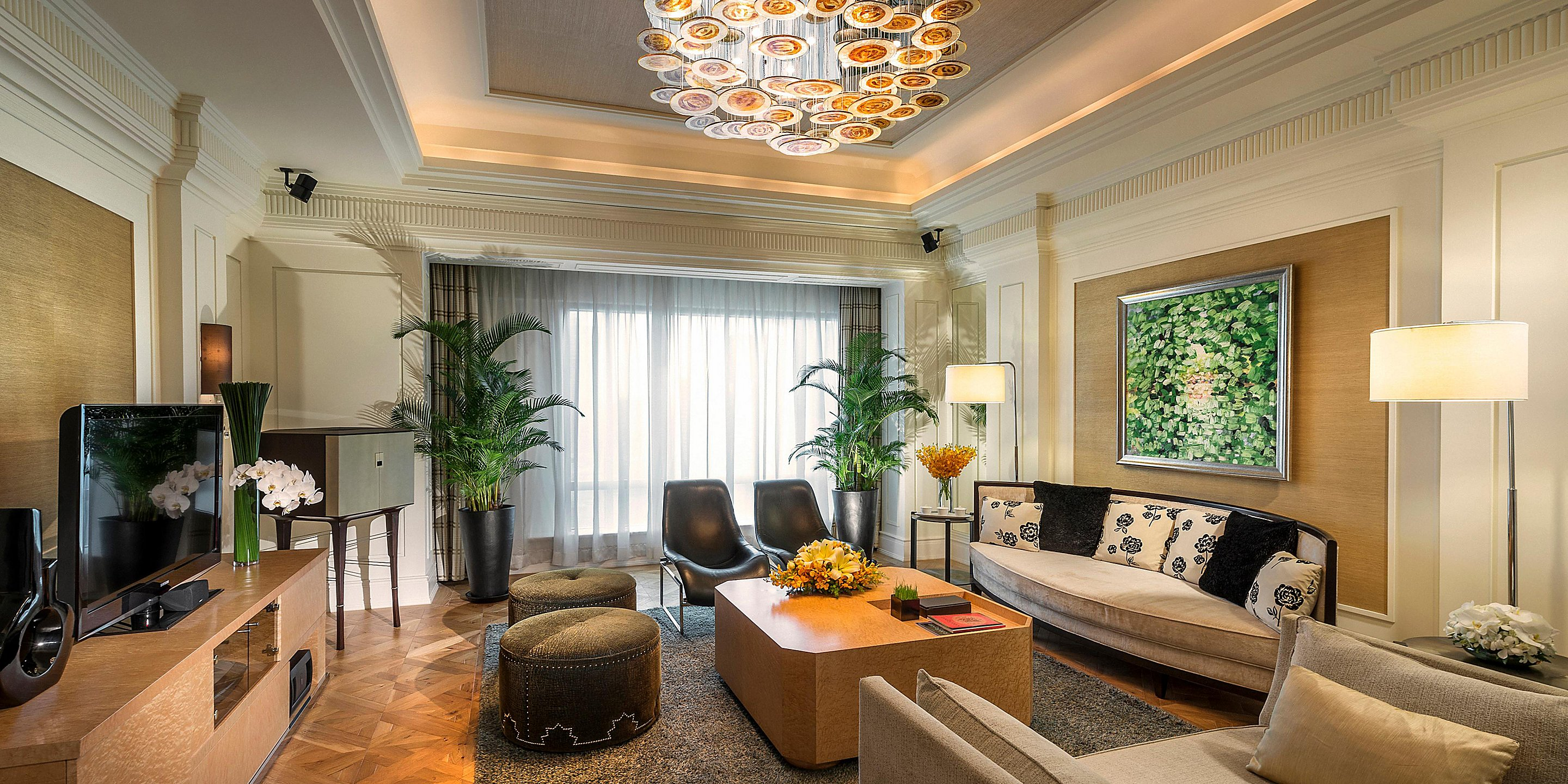 Convenient rooms in InterContinental Asiana Saigon