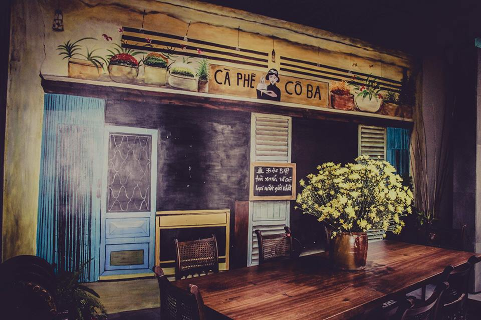 Co Ba Saigon Rooftop Coffee
