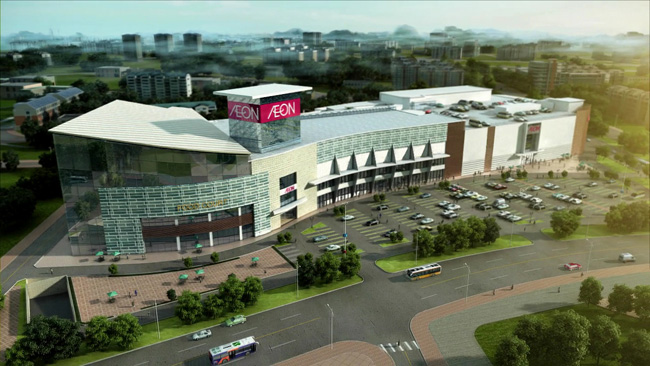 Aeon Mall Shopping Center - Tan Phu District