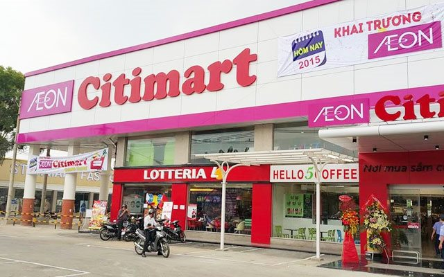 Aeon Citimart in Saigon