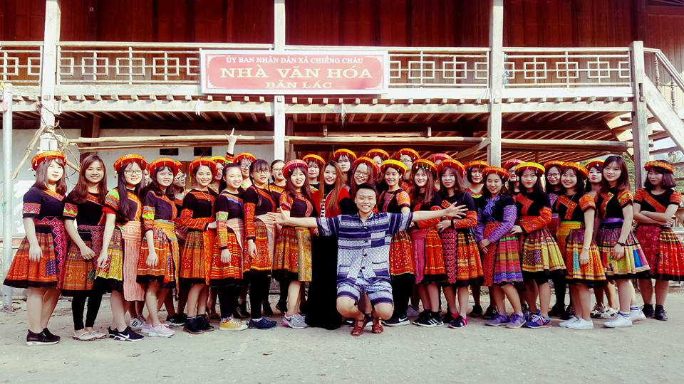 Traditional costumes of ethnic minorities in Mai Chau