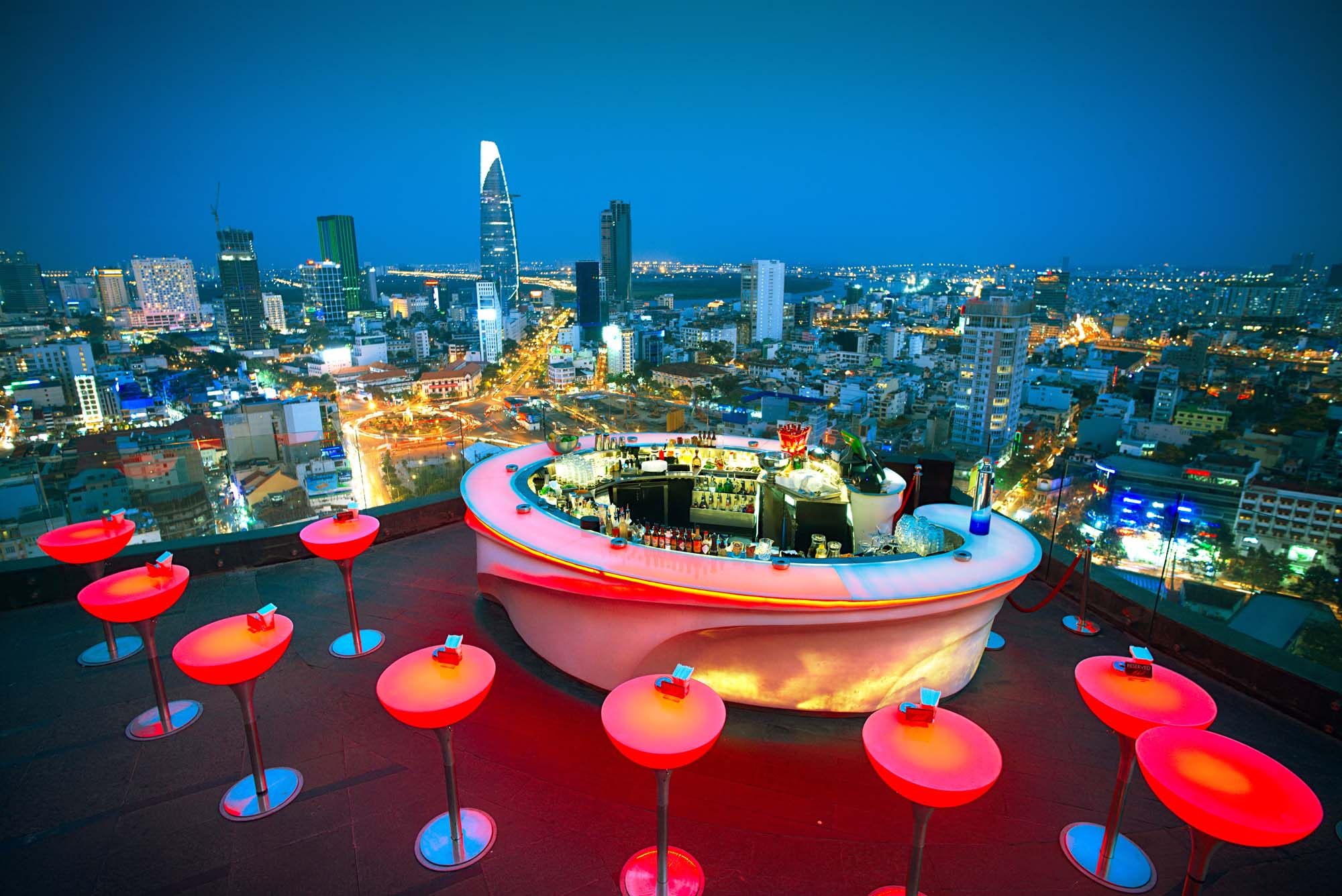 Chill Sky Bar is located on AB Tower