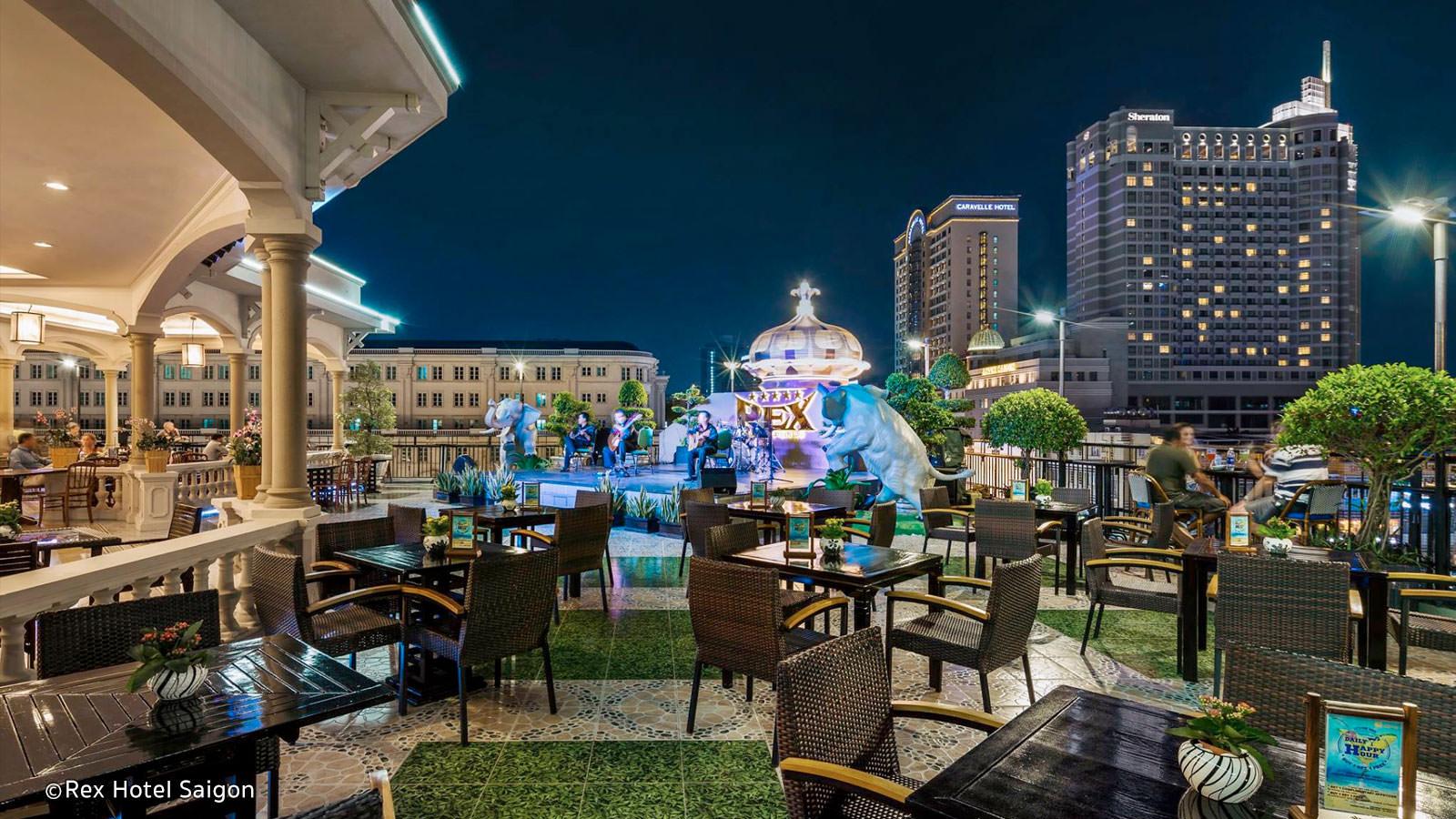 Rex Rooftop Bar Hotel